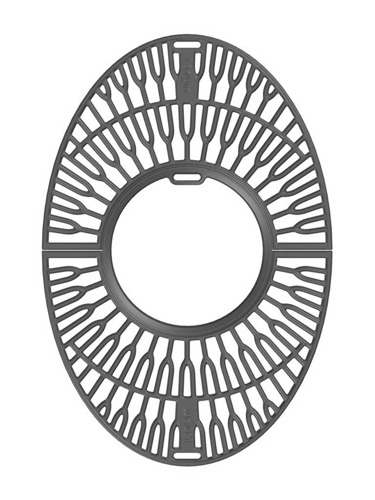 Grillrost mit Wok Einsatz Modell Taran
